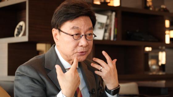 최성해 동양대학교 총장이 26일 학교 법인 이사회에 사직서를 제출했다. 공성룡 기자