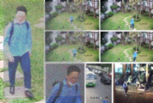 베트남 호치민시에서 지난 21일 발생한 우리나라 교민 강도살인 사건의 유력한 용의자로 체포된 한국인 이모(29)씨가 사건 현장 주변을 배회하는 모습. [사진 주호치민 한국 총영사관]