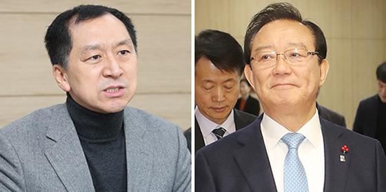 김기현(左), 송철호(右)