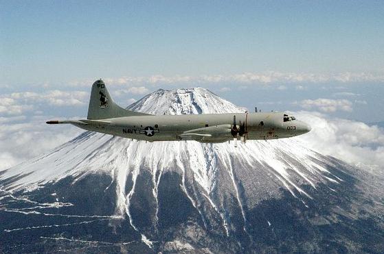 미국 해군 소속 대잠초계기 P-3C의 모습. [사진 미 해군 홈페이지]