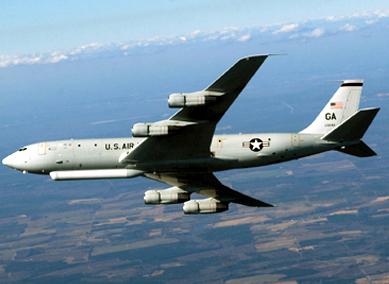 기습 도발 가능성에 미국의 정찰기 4대가 한반도와 동해 상공을 비행하며 대북 정찰 임무를 수행했다. [사진 미 공군]