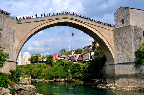 Old Bridge in Mostar, Bosnia