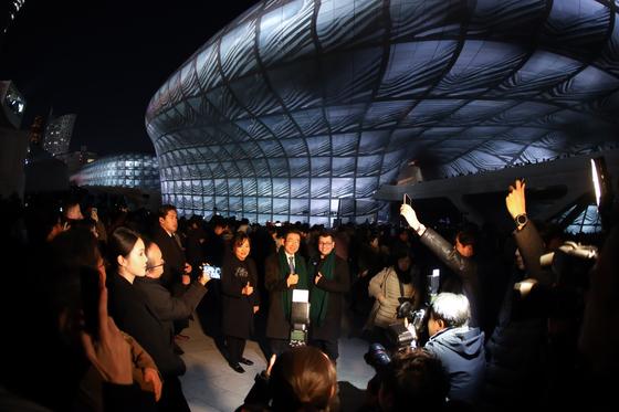 20일 개막한 서울라이트는 1월 3일까지 열린다. [사진 서울디자인재단]