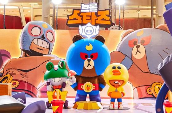 라인프렌즈가 슈퍼셀의 인기 모바일 게임 '브롤스타즈'의 캐릭터를 재해석한 상품을 최근 국내에 출시했다. [사진 라인프렌즈]