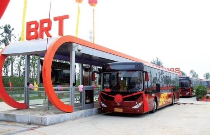 외국에서 운영 중인 BRT 시스템. [중앙포토]