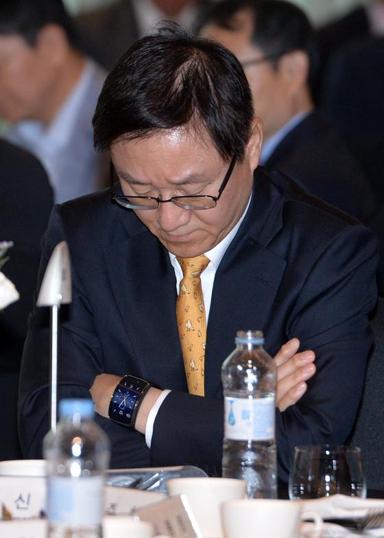 김신 전 삼성물산 대표의 모습. [중앙포토]