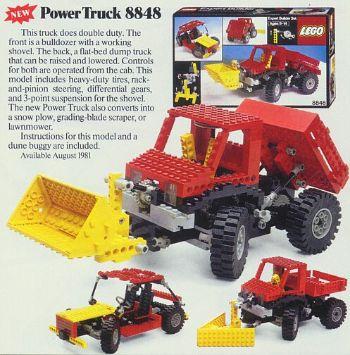 81년 출시된 레고 파워트럭 시리즈. [사진 브릭링크닷컴]
