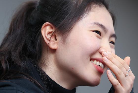 심석희 선수가 3일 서울시청 쇼트트랙팀에 입단했다. [연합뉴스]