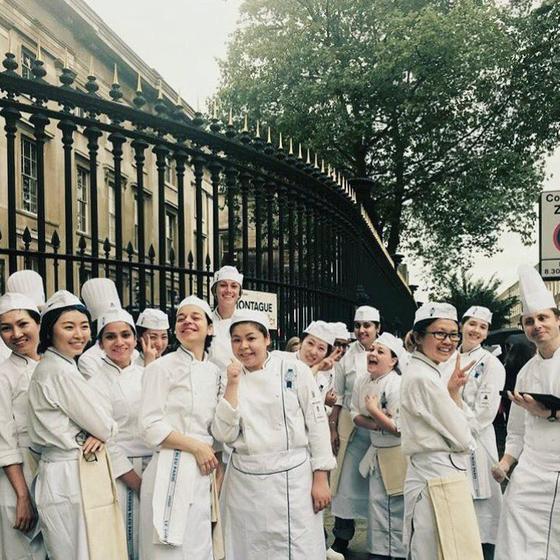 르꼬르동블루 런던에서의 첫 수업. [사진 밀로베이킹스튜디오 인스타그램]