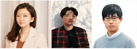 왼쪽부터 이유리 동문, 이홍도 동문, 김준현 학생