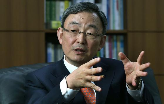 최성준 전 방송통신위원장. [중앙포토]