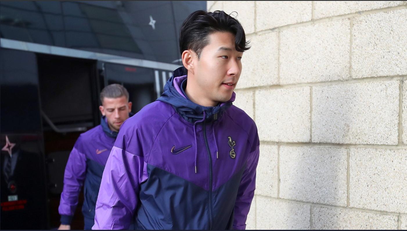 미들즈브러와 FA컵 3라운드에서 복귀전을 치른 손흥민. [사진 토트넘 트위터]