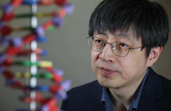 김진수 기초과학연구원 유전체교정연구단장. 신인섭 기자