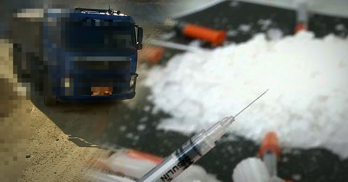 25t 덤프트럭 운전자가 서울 한복판에서 경찰의 검문 요구에 불응하고 달아나다 붙잡혔다. [중앙포토·연합뉴스]