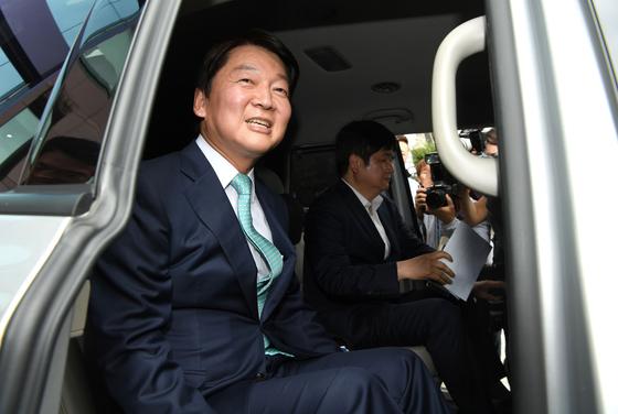 지난 2일 정계 복귀를 선언한 안철수 바른미래당 전 의원. [연합뉴스]