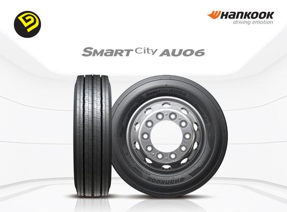 전기버스 전용 타이어 '스마트시티 AU06'. 한국타이어 제공