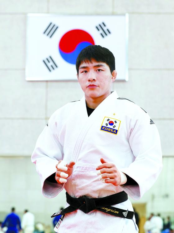 안창림은 도쿄올림픽에서 숙적 오노 쇼헤이를 꺾고 금메달을 따겠다는 각오다. 변선구 기자
