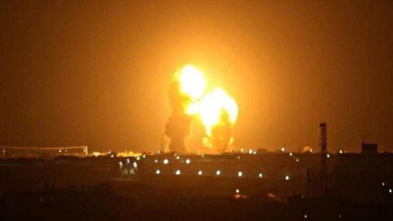 이란 혁명수비대가 8일(현지시간) 새벽 미군이 주둔하는 이라크 군기지에 탄도미사일을 발사했다. 사진은 이란 혁명수비대가 언론에 공개한 이라크 내 미군 주둔 기지 미사일 공격 모습. [연합뉴스]