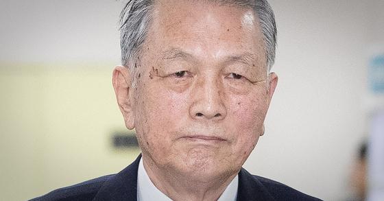 김기춘 전 청와대 비서실장 [뉴스1]