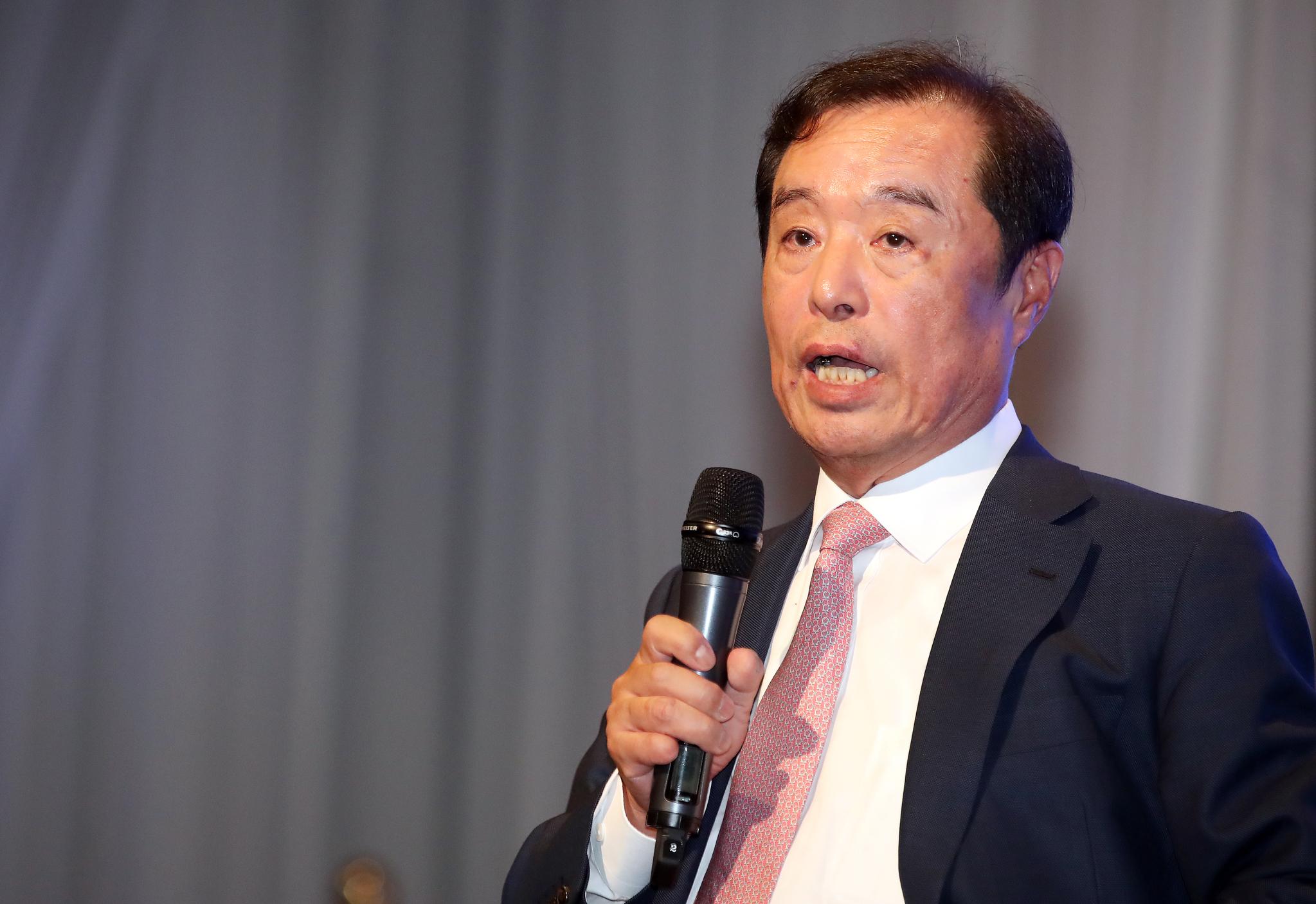 김병준 전 자유한국당 비상대책위원장. [뉴스1]