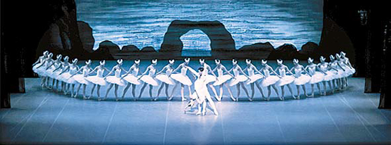 오는 2월 20일과 21일 예울마루를 찾는 '백조의 호수' 공연 모습. [사진 GS칼텍스]