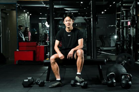 이승우는 국내에 머무는 동안 가속 능력과 근육 피로 회복 능력을 키우는데 전념했다. 우상조 기자