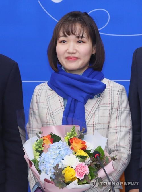 더불어민주당 총선 인재영입 6호 홍정민 변호사. [연합뉴스]