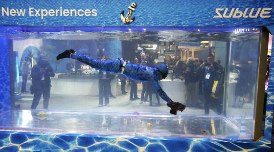 [사진] 수중 스쿠터·IBM 퀀텀 컴퓨터 … 자판없이 타이핑