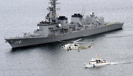 일본 정부는 지난해 12월 아베 총리 주재의 각의(국무회의)에서 해상자위대 호위함 '다카나미'와 P3C 초계기 2대를 중동 해역에 파견하는 내용의 안건을 의결했다. [연합뉴스]