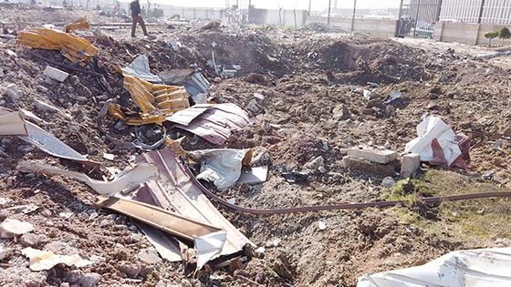 지난 8일(현지시간) 이란 수도 테헤란의 이맘 호메이니 공항을 이륙한 직후 추락한 우크라이나 여객기 사고로 탑승자 176명이 사망했다. [로이터=연합뉴스]