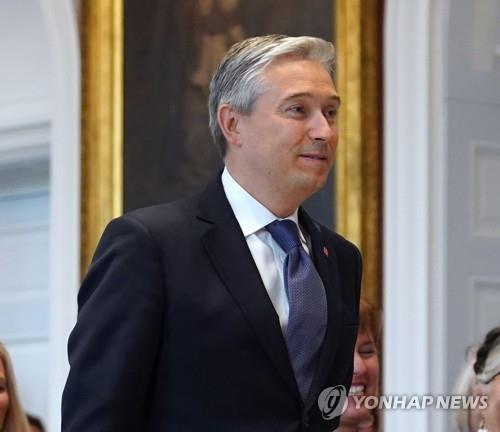 프랑수와-필립 샹파뉴 캐나다 외교부 장관. [AFP=연합뉴스]