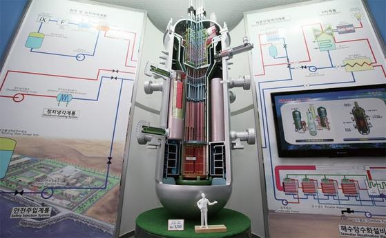 한국원자력연구원이 개발한 한국형 소형 원전 '스마트(SMART)'. / 사진:한국원자력연구원