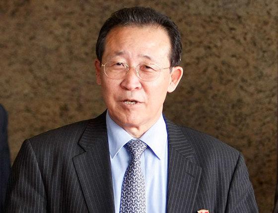 김계관 북한 외무성 고문. [로이터=연합뉴스]