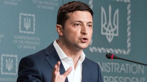 볼로디미르 젤렌스키 우크라이나 대통령. [연합뉴스]