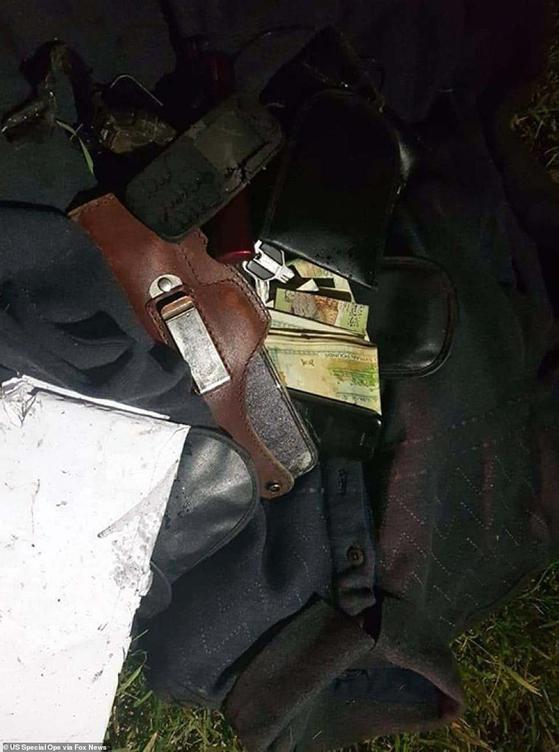 솔레이마니가 사망 당시 가지고 있던 핸드폰과 현금 등. [사진 폭스뉴스 캡처]