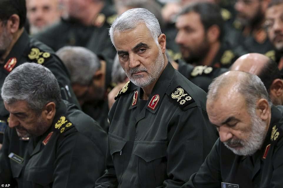 가셈 솔레이마니 이란 쿠드스군 사령관. [AP=연합뉴스]