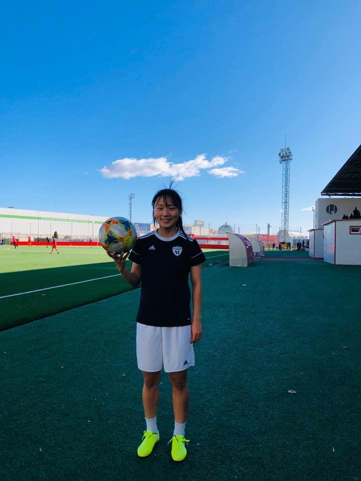 스페인 여자축구 마드리드 CFF 수비수 장슬기. [사진 장슬기 제공]