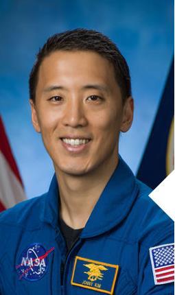 NASA 우주인에 선발된 한국계 조니 김 씨. [사진 NASA 홈페이지 캡처]