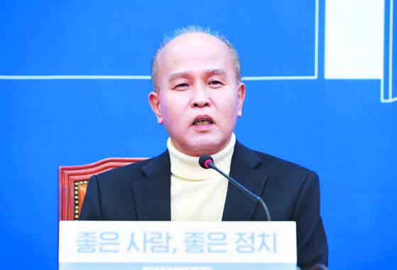 더불어민주당의 일곱 번째 총선 영입 인사인 이용우 카카오뱅크 공동대표. [연합뉴스]