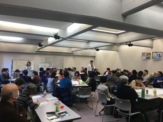 KHJ 전국 히키코모리 가족 연합회 모임에 참석한 사람들. [사진 KHJ전국 히키코모리 가족 연합회 홈페이지]