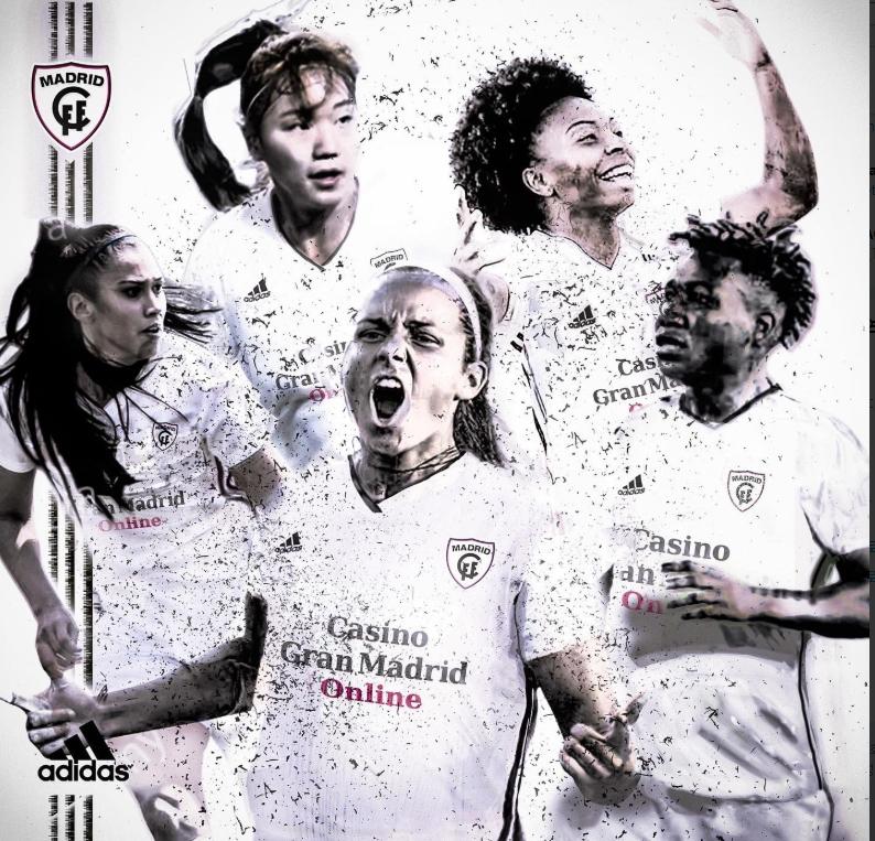스페인 여자축구 마드리드 CFF 수비수 장슬기와 동료들. [사진 마드리드 CFF 인스타그램]