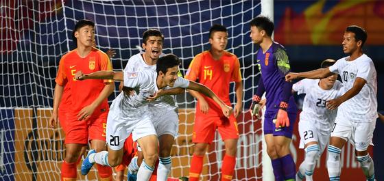 조별리그 C조 2연패를 당한 중국은 다시 한 번 올림픽 도전이 무산됐다. 사진=AFC 홈페이지