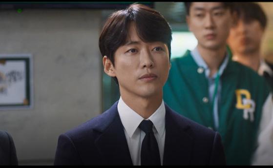 드라마 '스토브리그' 주인공 백승수 단장. [사진 SBS]