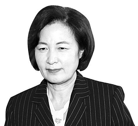 추미애 법무부 장관의 모습. [연합뉴스]