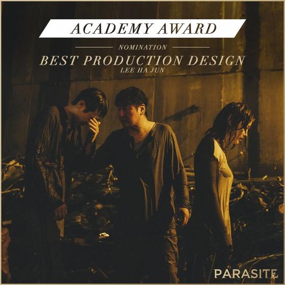 영화 '기생충(PARASITE·봉준호 감독)'이 한국 영화 역사상 최초 미국 아카데미시상식 6개 부문 최종 후보에 노미네이트 됐다. 미술상(BEST PRODUCTION DESIGN) / 사진=NEON 공식 SNS