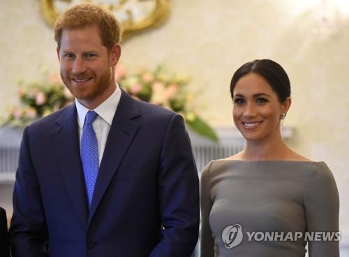영국 해리 왕자와 마클 왕자비. [로이터=연합뉴스]