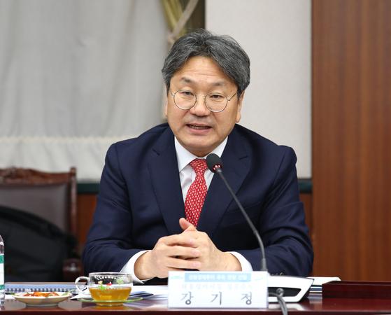 강기정 청와대 정무수석. [뉴스1]