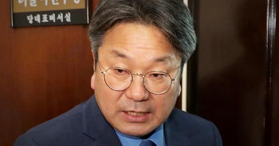 강기정 청와대 정무수석. [연합뉴스]
