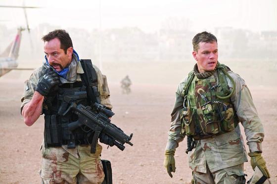 2003년 이라크 전쟁을 비판하는 영화 '그린존'. 이 영화를 시작으로 이라크 전쟁을 다룬 영화들이 꾸준히 나오고 있다. 맷 데이먼이 주연을 맡았다.