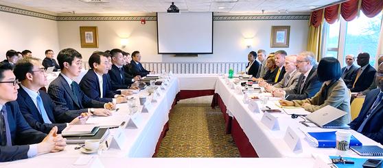 14~15일(현지시간) 미국 워싱턴 DC에서 한미 방위비분담특별협정 체결을 위한 6차 회의가 열렸다. [사진 외교부 제공]